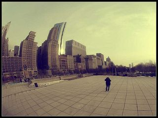 Chicago: Bean Skyline